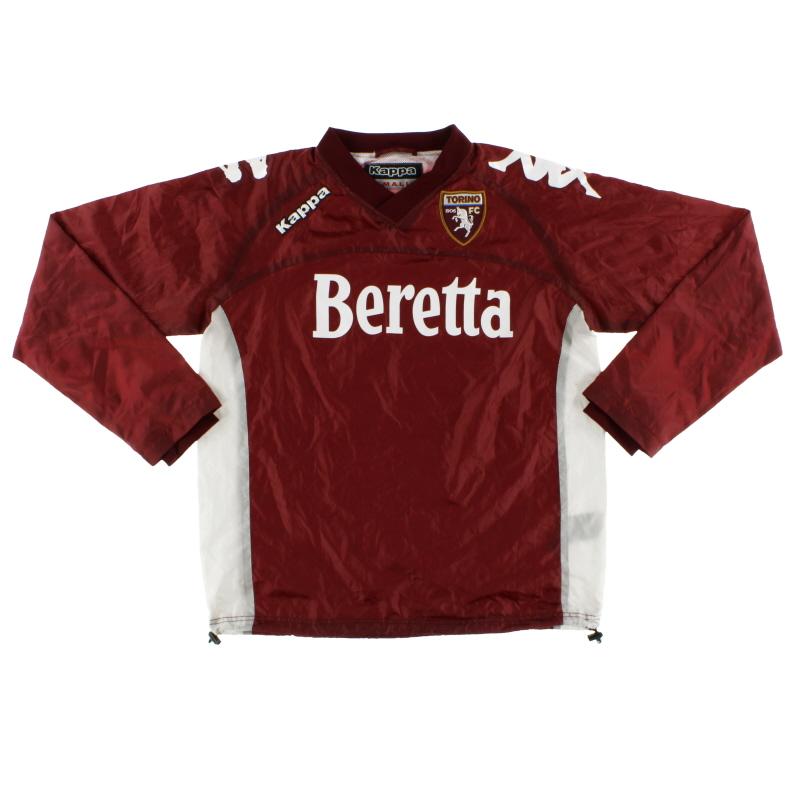 2012-13 Torino Kappa Rain Pullover S
