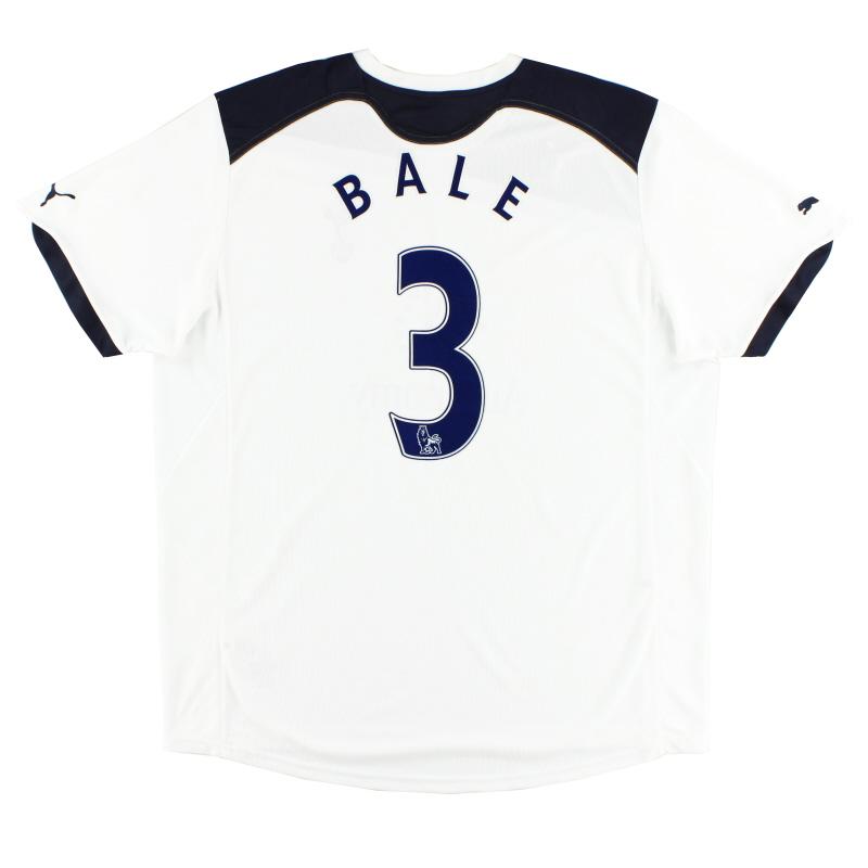 2010-11 Tottenham Home Shirt Bale #3 XXL