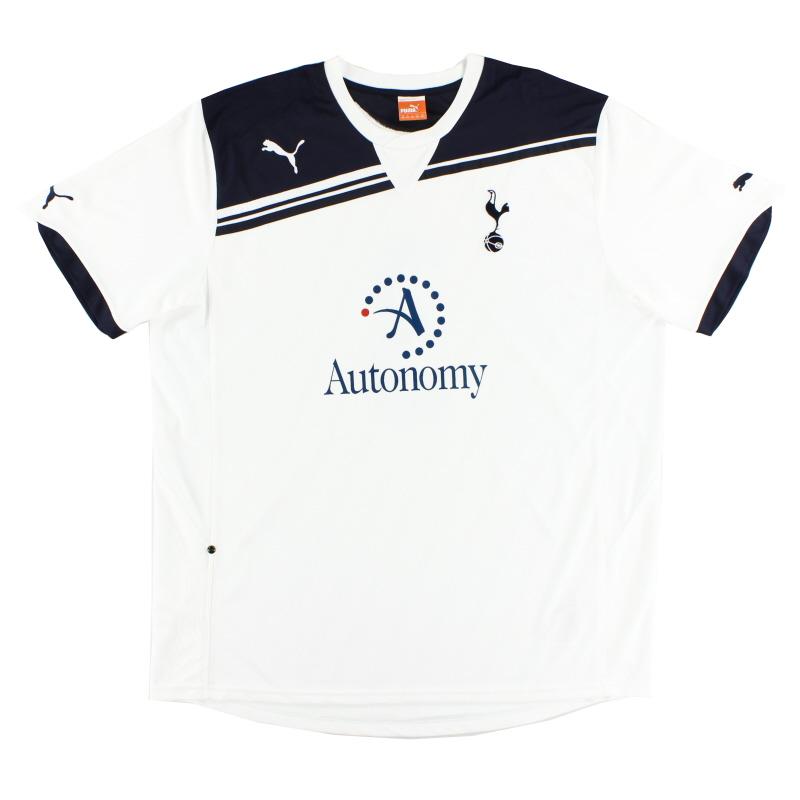 2010-11 Tottenham Home Shirt L - 737649