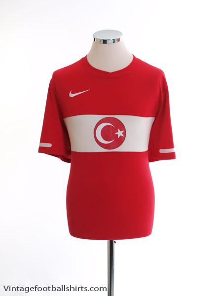 2010-11 Turkey Home Shirt L
