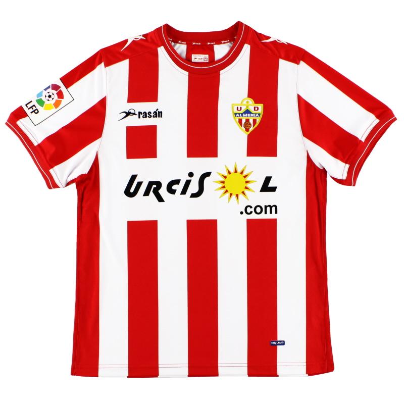 2010-11 UD Almeria Home Shirt *Mint* M