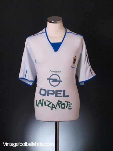 2010-11 UD Lanzarote Away Shirt L