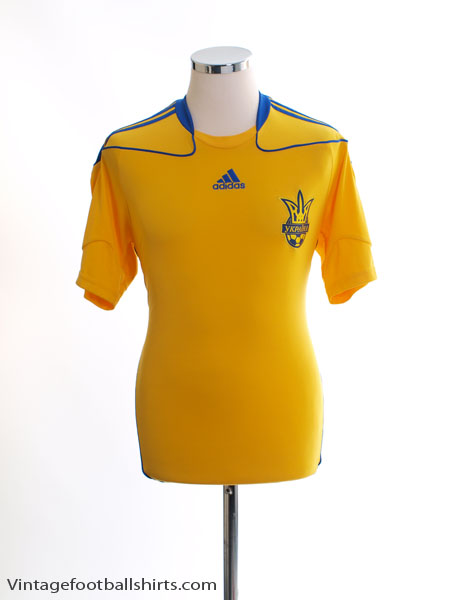 2010-11 Ukraine Home Shirt S