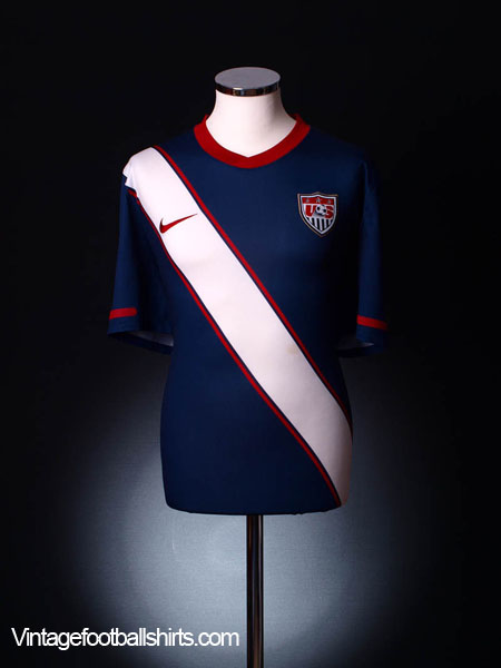 2010-11 USA Away Shirt S