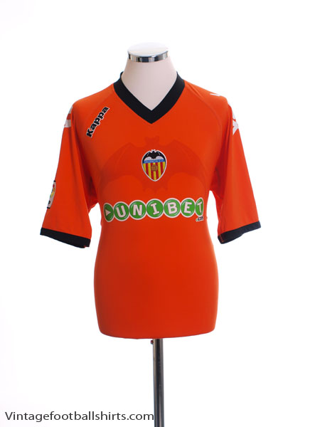 2010-11 Valencia Away Shirt XL