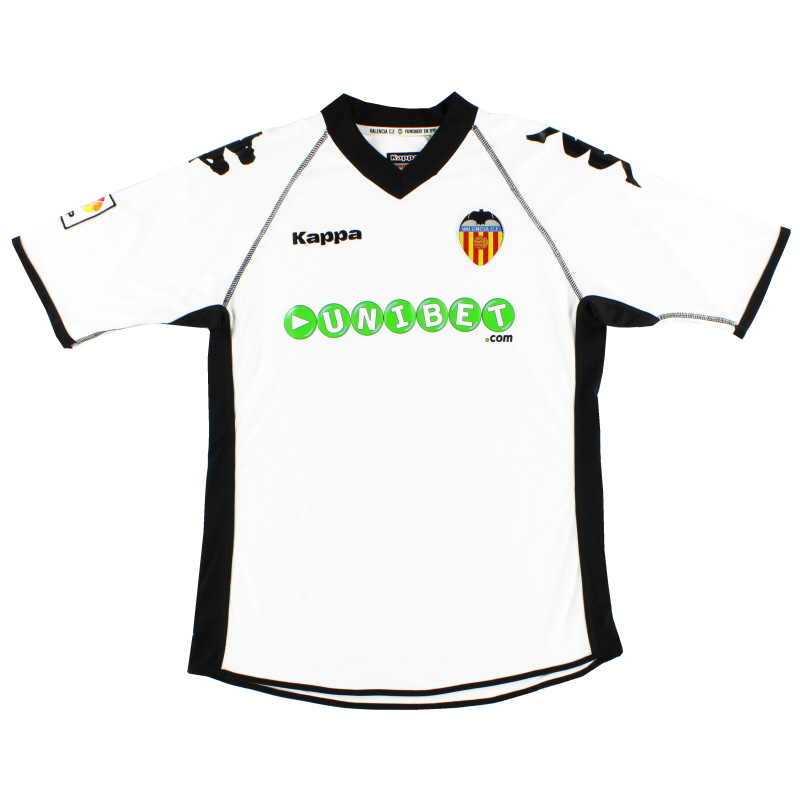 2010-11 Valencia Home Shirt M