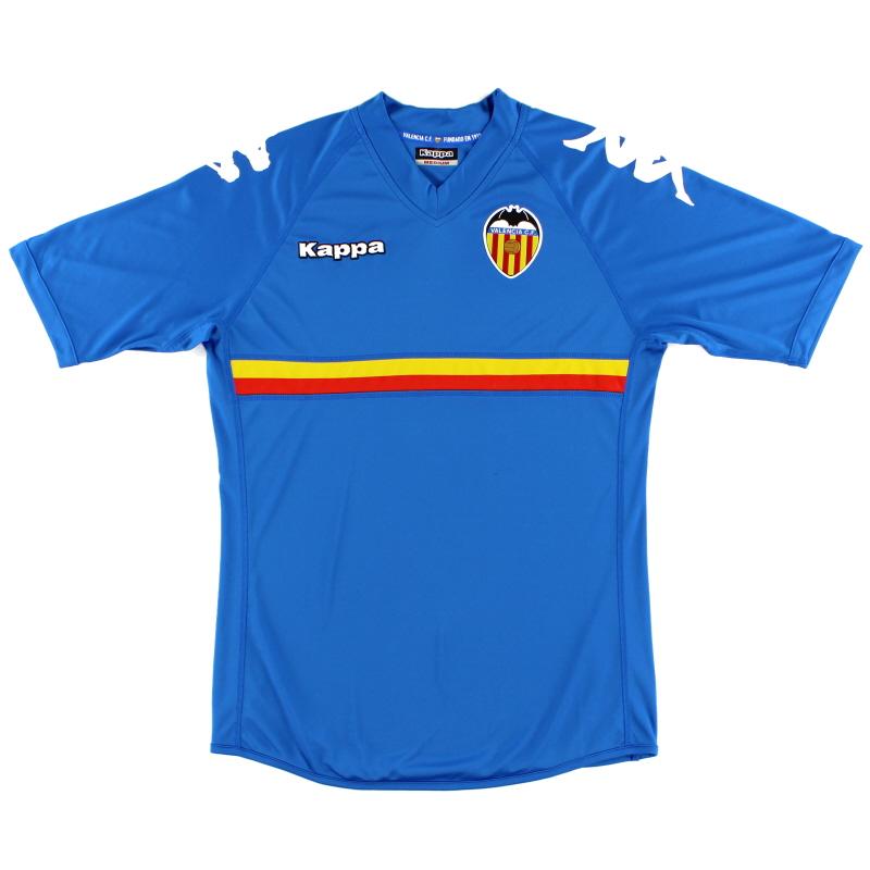 2010-11 Valencia Third Shirt *Mint* M