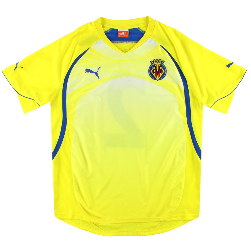 2010-11 Villarreal Puma Player Issue Training Shirt #2 L