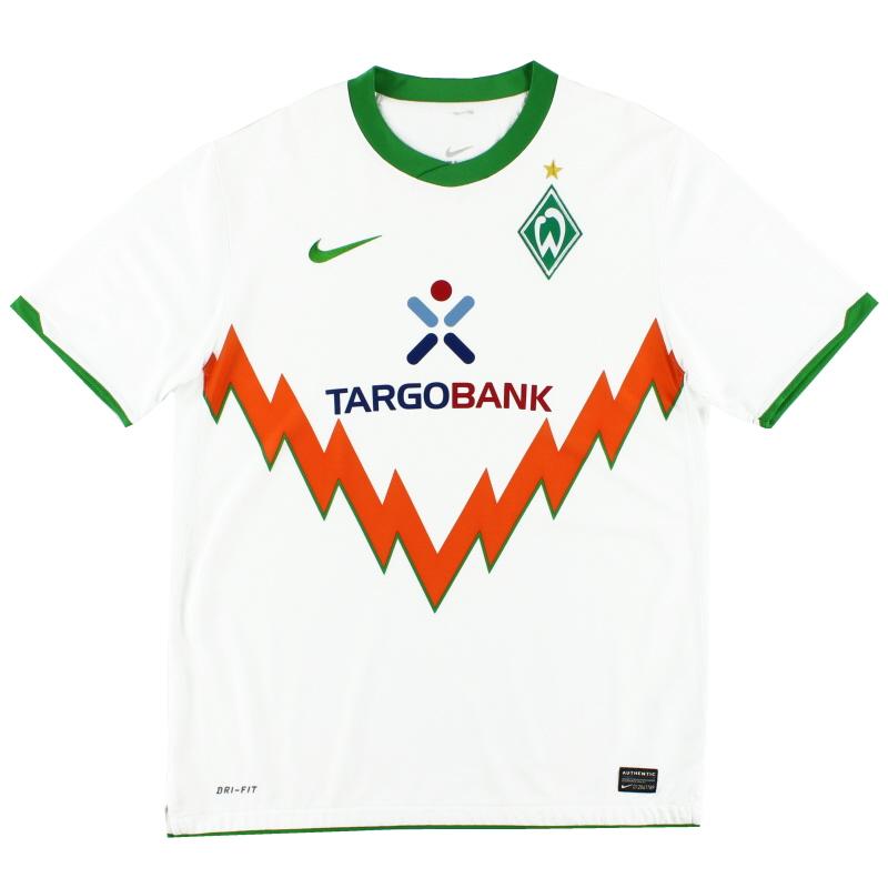 2010-11 Werder Bremen Away Shirt L