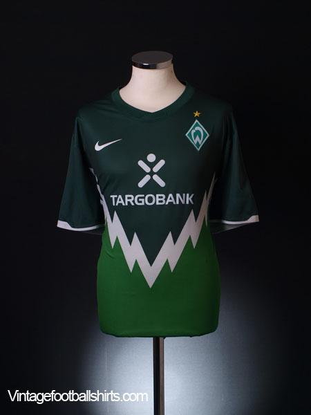 2010-11 Werder Bremen Home Shirt M