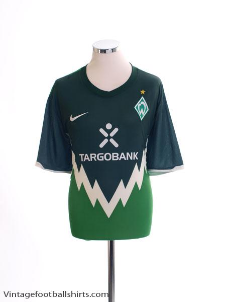 2010-11 Werder Bremen Home Shirt L.Boys - 383340-377
