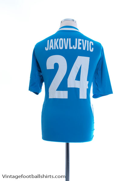 2010-11 Wolfsberger AC Home Shirt Jakovljevic #24 S