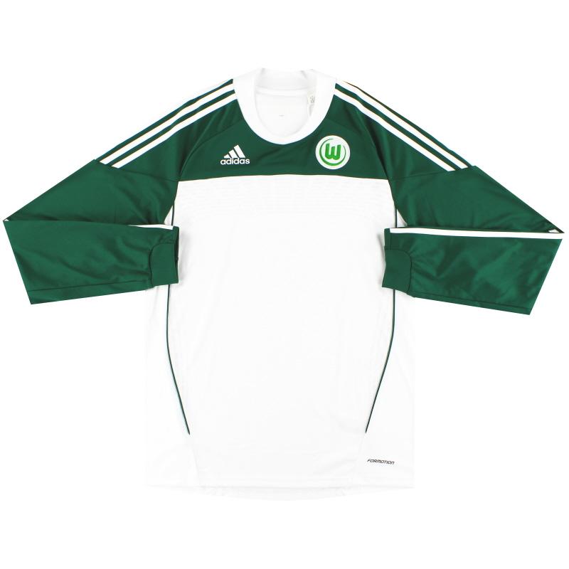 2010-11 Wolfsburg Formotion Home Shirt L/S *Mint* L