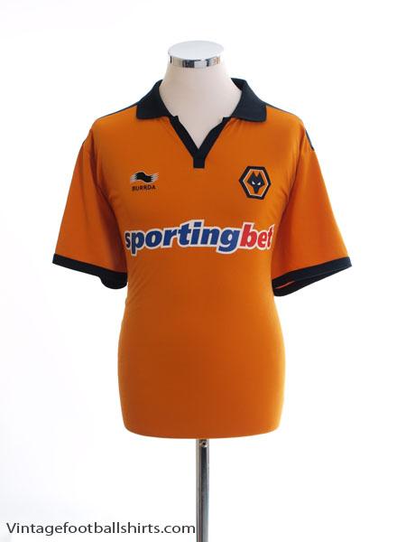 2010-11 Wolves Home Shirt L