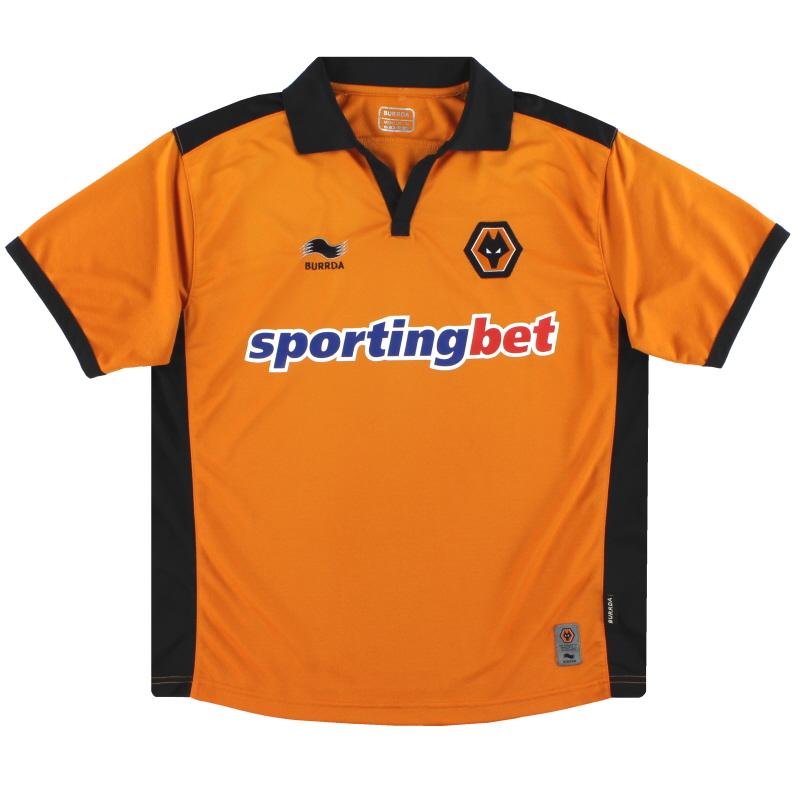 2010-11 Wolves Home Shirt M