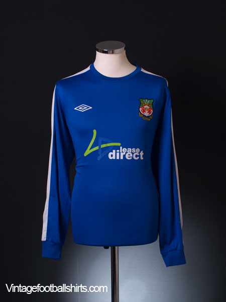 2010-11 Wrexham Away Shirt L/S L