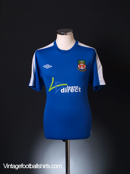 2010-11 Wrexham Away Shirt M