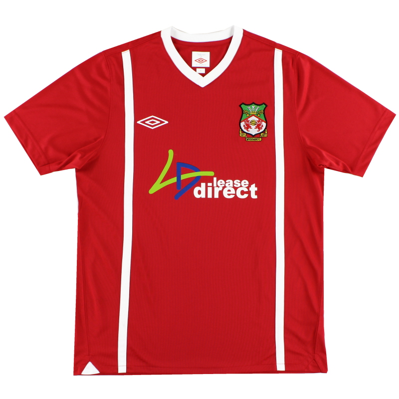 2010-11 Wrexham Home Shirt M