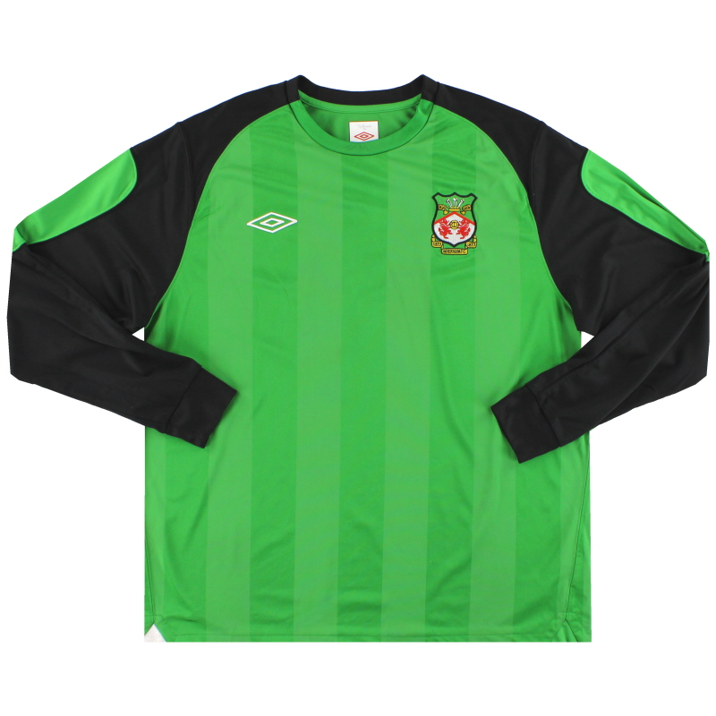 2010-11 Wrexham Umbro Goalkeeper Shirt XL