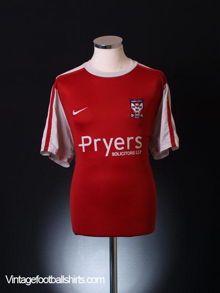 2010-11 York City Home Shirt XL