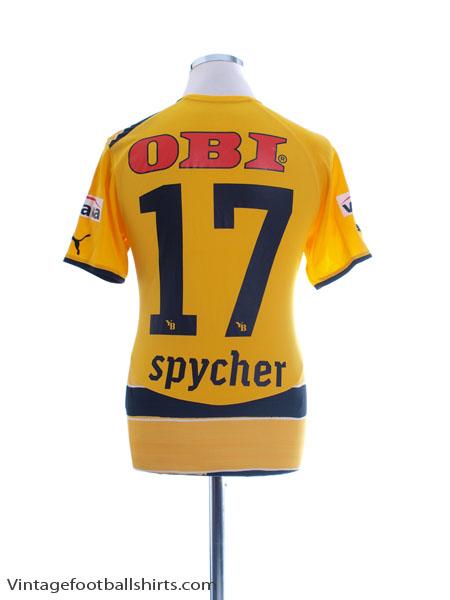 2010-11 Young Boys Home Shirt Spycher #17 M - 738647
