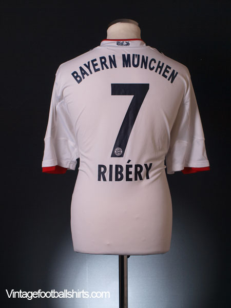 2010-12 Bayern Munich Away Shirt Ribery #7 XL