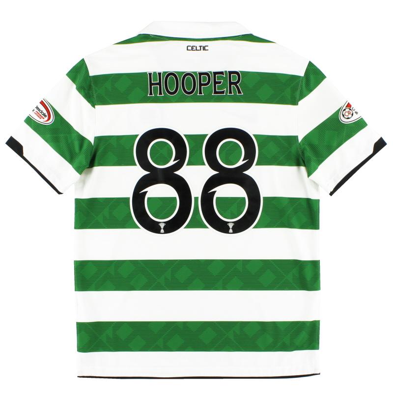 2010-12 Celtic Home Shirt Hooper #88 M - 381813-380