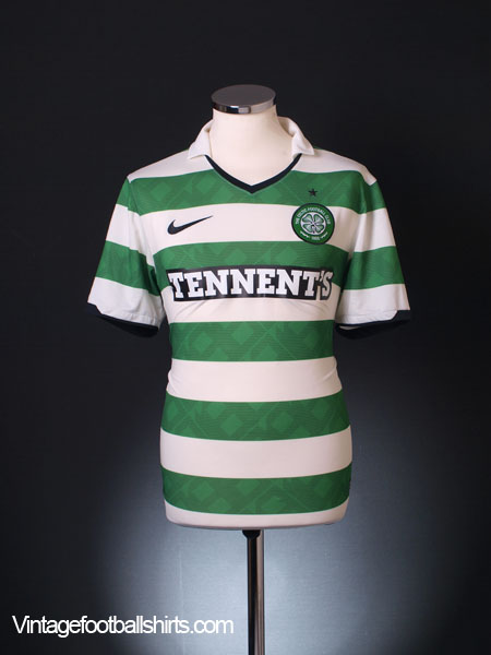 2010-12 Celtic Home Shirt S