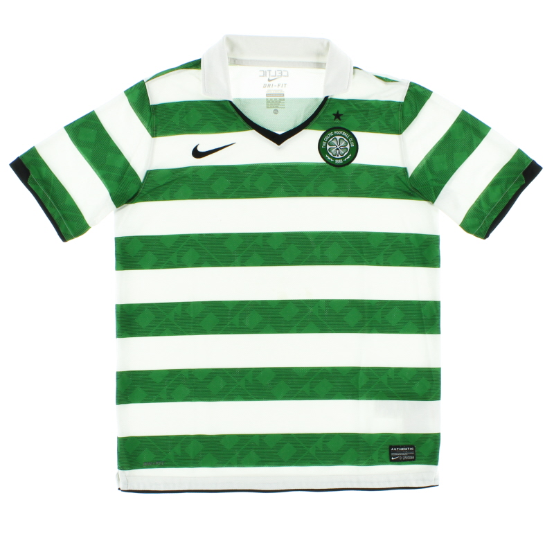 2010-12 Celtic Home Shirt XL.Boys