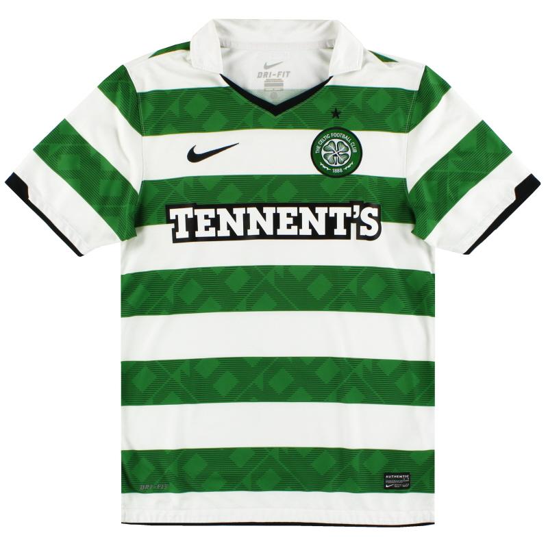 2010-12 Celtic Nike Home Shirt S