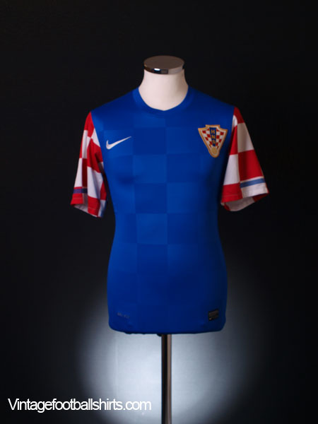 2010-12 Croatia Away Shirt S