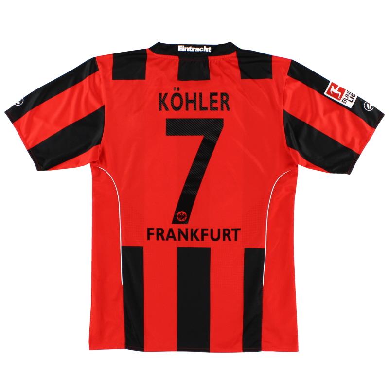2010-12 Eintracht Frankfurt Home Shirt Kohler #7 S - EF4210