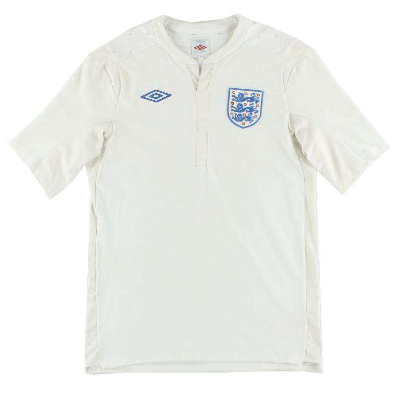 2010-12 England Home Shirt S