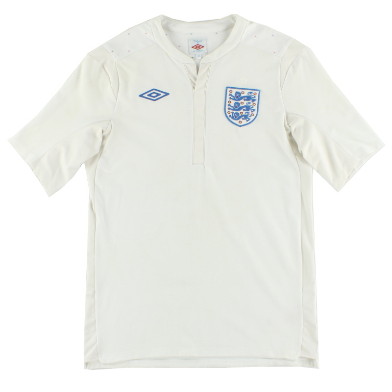 2010-12 England Umbro Home Shirt L