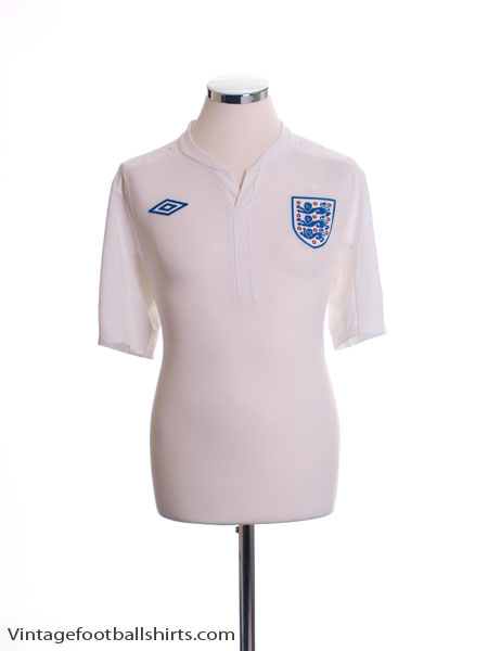 2010-12 England Home Shirt *Mint* L