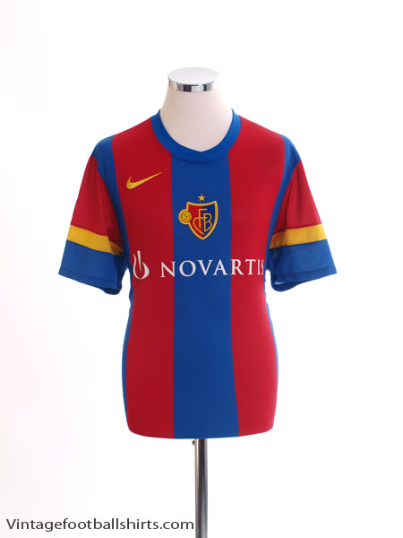 2010-12 FC Basel Home Shirt L