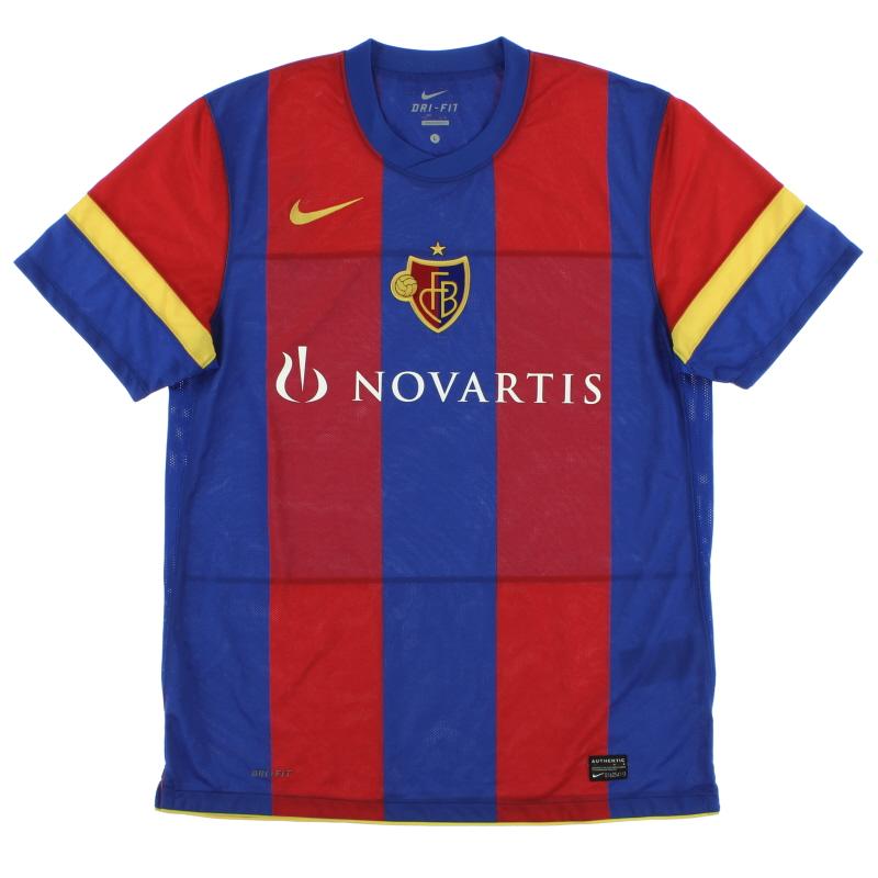 2010-12 FC Basel Home Shirt *Mint* L - 383370-494