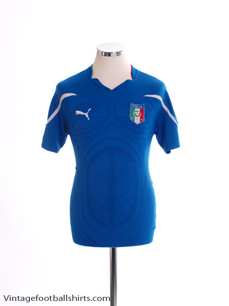 2010-12 Italy Home Shirt S