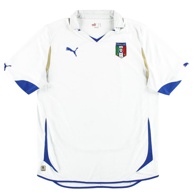 2010-12 Italy Puma Away Shirt XL