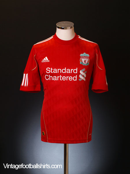 2010-12 Liverpool Home Shirt L