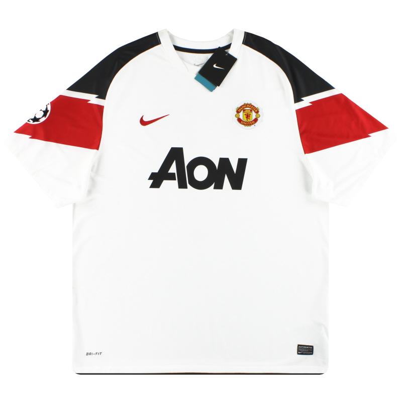 2010-12 Manchester United Nike Away Shirt *w/tags* XXL - 382470-105