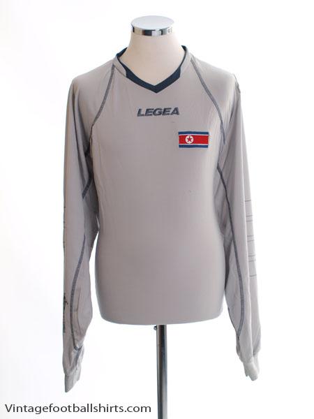 2010-12 North Korea World Cup Silver Goalkeeper Shirt *BNIB*
