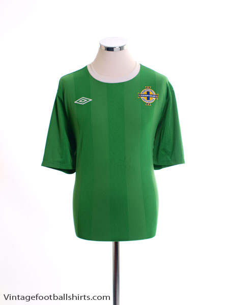 2010-12 Northern Ireland Home Shirt XL