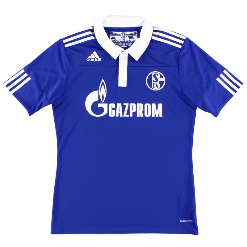 2010-12 Schalke Home Shirt S