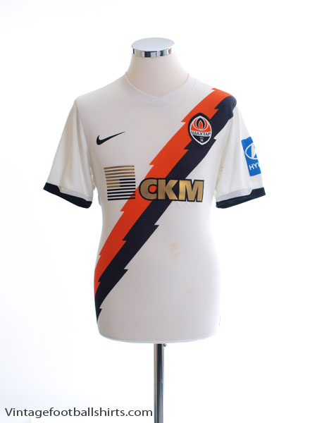 2010-12 Shakhtar Donetsk Match Issue Away Shirt #31 M