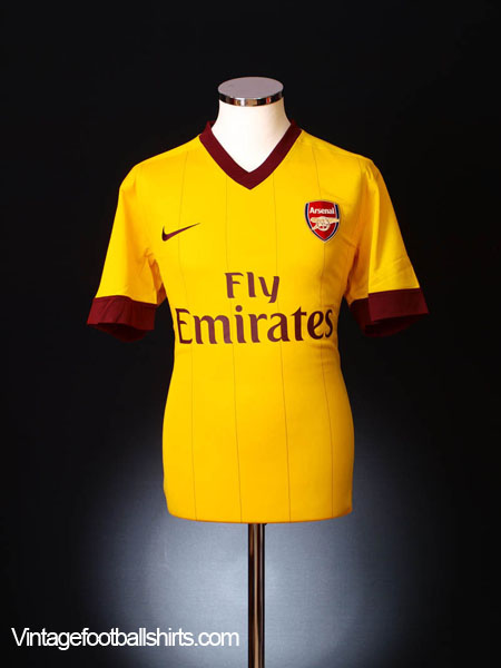 2010-13 Arsenal Away Shirt L