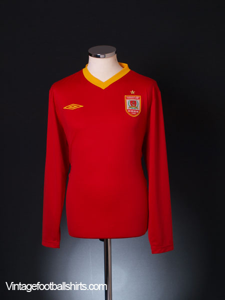 2010 Changchun Yatai Home Shirt L/S L