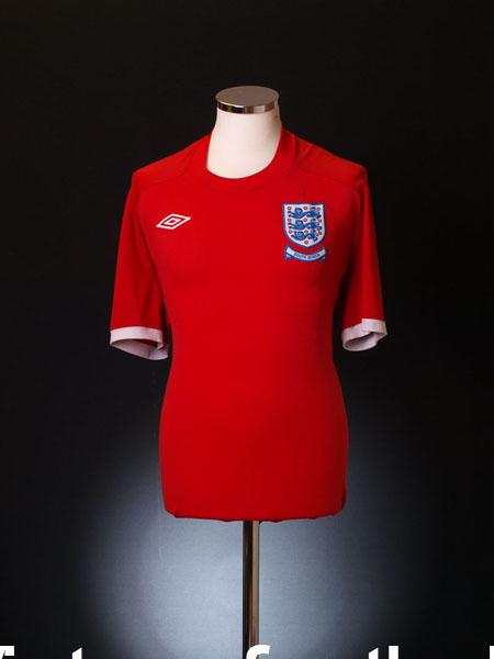 2010 England Away Shirt M