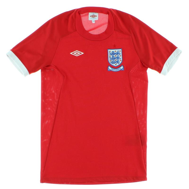 2010 England Away Shirt XL
