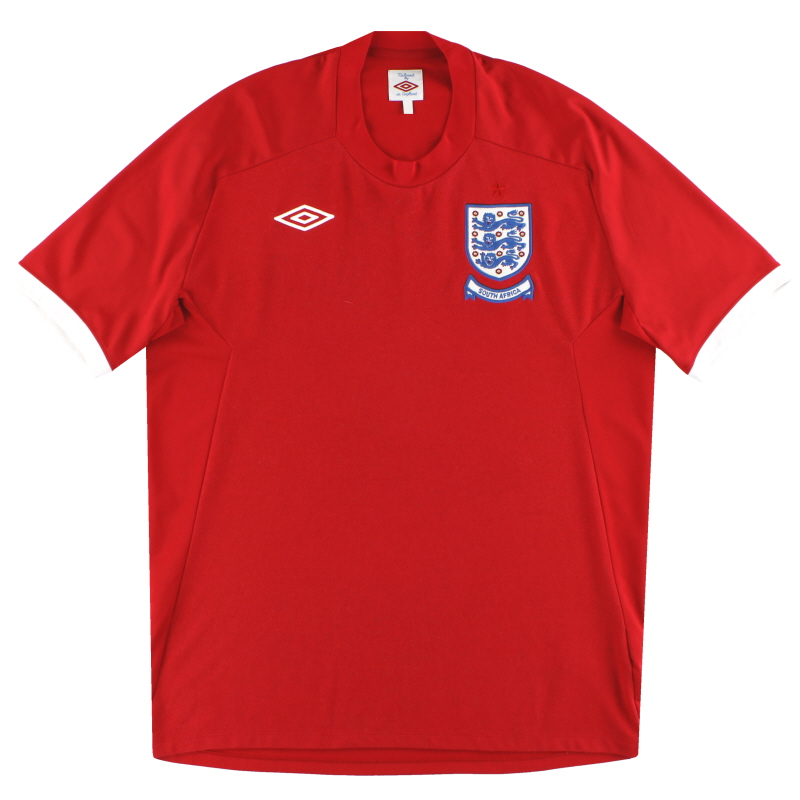 2010 England Umbro 'South Africa' Away Shirt L